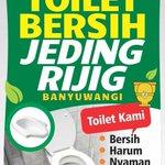 Dulur,, besok dimulai festival toilet bersih atau jeding rijig. :) sukseskan dulur... http://t.co/46KGSRN9QN