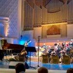 #Latvias Presidency @eu2015lv got a head start in Moscow with a fabulous #Raimonds_Pauls concert in Tchaikovsky Hall http://t.co/YXL6mfA5h2