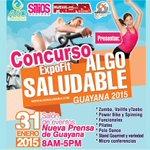 "NPG premia tu fidelidad con la ""ExpoFit Algo Saludable Guayana 2015"" http://t.co/61nqkVIiBl http://t.co/Ejv878awJW"