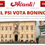 #QUIRINALE IL PSI VOTA #BONINO http://t.co/CQbOqgtM7o http://t.co/dqlQvoQ4HE