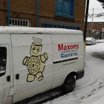 just a bit of snow at the factory today! Herbal sweets to keep the cold away anyone? #sheffieldsnow #sheffieldissuper http://t.co/pNhj7GChk6