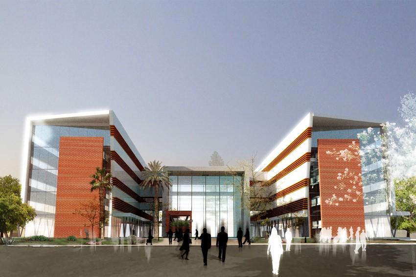 Nouveau siège de l'Agence Marocaine de Développement des Investissements. http://t.co/BjFNiEnftG http://t.co/1mA3JoZ43d
