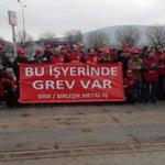 09.05 Bilecik Demisaşta grev başladı. #MetalİscisiGrevde #MetaldeGrevVar http://t.co/QILwcaqmy3 http://t.co/bhgORv5Lf3