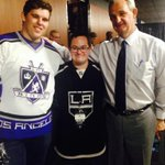 Great @LAKings victory lead by Coach Sutter & his son Chris w my @CShriver573. http://t.co/TpDsCduJWz