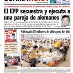 Tapa del día 29/01/15 de @UltimaHoracom #EPP http://t.co/WF1DrtCLx4