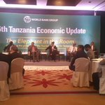 The World Banks Launch of the 6th Tanzania Economic Update Report. Follow the debate using #TZEconomy or #UtaliiTZ http://t.co/124e5VQTpU
