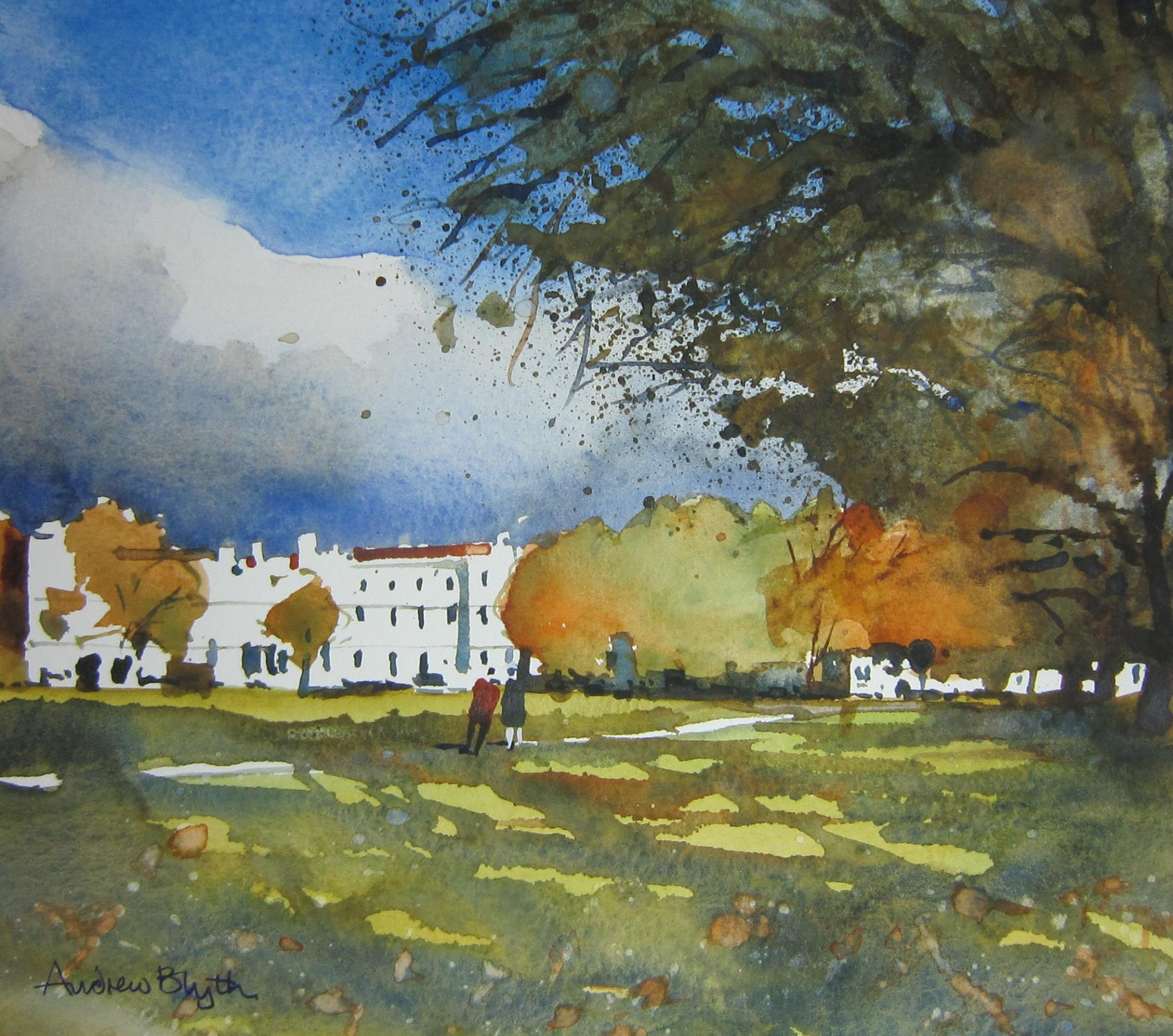 RT @andrew_blyth1: 1of 2 watercolours selected for 'Richmond View' @Orleanshg 7feb-31stmay @ryeartists http://t.co/Jz1aLlI5hs