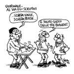 #QUIRINALE2015 AL VIA GLI SCRUTINI La mia nuova vignetta @Corriereit #Renzi 29/01/2015 http://t.co/40PO4llNaK http://t.co/gPdorMJQjQ