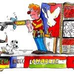 """Wenn die Angst regiert RT @welt: Köln: Karnevalisten ziehen """"Charlie Hebdo""""-Wagen zurück http://t.co/nOrQ36WmYv http://t.co/1whCENkD8C"""