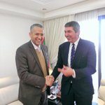 W Civil Society & Parl Minister Lahbib Choubani, on supporting civil society role in Morocco and multilaterally. http://t.co/a5dAUMIL15