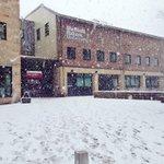 Its a bit snowy out there! @sheffhallamuni #sheffieldsnow #Sheffield http://t.co/FlefVqjIAw