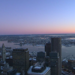 1st light on a COLD morning in #Boston...sunrise at 7:01am. Enjoy the sun today while you can- more snow coming #wcvb http://t.co/Hextztmvwb