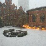 Sheffield University feeling the full force of the snow! (via @oasismark) http://t.co/z8ZZHjWHvx