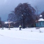 One of the snowy scenes from across Sheffield today! http://t.co/2vGxkearPK