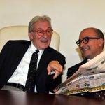 Ecco il candidato al Quirinale da Salvini e Meloni, nelle foto di Pizzi - http://t.co/man75ZDEOl @GenSangiuliano http://t.co/KgtxQuLKQr
