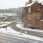 Its a snowy day from the Forde office! Make sure youre careful out there! #Sheffield #SouthYorkshire #Snow #ILoveS http://t.co/Vsc5lR58Mz