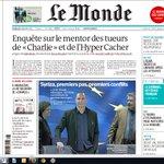 """le mentor des tueurs de """"Charlie"""" et de lHyper Cacher - A la Une du Monde aujourdhui http://t.co/hrGT4IhlJc"""" pourquoi est il pas arrêté?"""