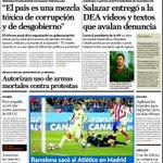 """""""@ElNacionalWeb: Buenos días, le presentamos nuestra primera página de este jueves 29 de enero de 2015 http://t.co/v0eGi0KYSo"""""""