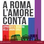 """Approvate #UnioniCivili, @ignaziomarino: """"Momento storico per la città di #Roma"""" http://t.co/4lD60CrHCB http://t.co/fmj58Q7xor"""