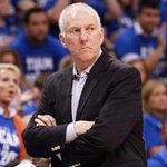 Happy birthday to Coach #CoachPop . The #spurs celebrated him turning 66 by beating the #Hornets. #kens5news http://t.co/0Mfm5RevJX