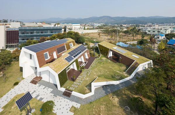 Laat uw dak #duurzaam renderen door #zonnepanelen met groene daken te combineren... @MichielScheffer @jmeindersma http://t.co/irmi668yQS