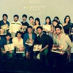 """""""@AadhiOfficial: Fun evening wit #Housefull of talent !! #Moonstruck #Calendarlaunch"""