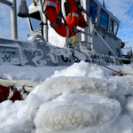 Coast Guard Station Point Judith 45 RB-M boat during #blizzardof2015 #SemperParatus @necn @wpri12 @projo #USCG @USCG http://t.co/wlt7GEz4Mh