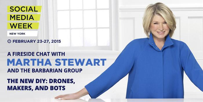 Join @MarthaStewart and @SophieAnnKelly for a chat and a drone joust @smwnyc http://t.co/hfZU4hE6vG #SMWNYC http://t.co/eewRYB5Jvv