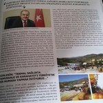 """""""Termal Sağlıkta Marka Kent Pamukkale-Karahayıt"""" projesi, Jeotermal Belediyeler Birliği aylık dergisinde yer aldı. http://t.co/n9baYh6Svv"""