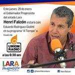 .@HenriFalconLara por @unionradionet en vivo  > http://t.co/2DS6X9fnsh… http://t.co/uvhZEGzOlt