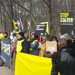 Wir lassen nicht nach & waren heute wieder für #RaifBadawi vor der saudi-arabischen Botschaft in #Berlin: #FreeRaif! http://t.co/3rcZIk8u60
