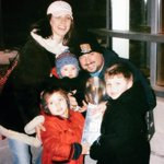 .@Andruzzi63 and I are off to #SuperBowlXLIX. Hopefully we are the @Patriots lucky charms. #TBT http://t.co/OuGzFdZD2Z