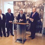 Reopening of the Czech embassy in Luxembourg with J.Asselborn,Foreign minister of Luxembourg. http://t.co/V6ABK9rxw9