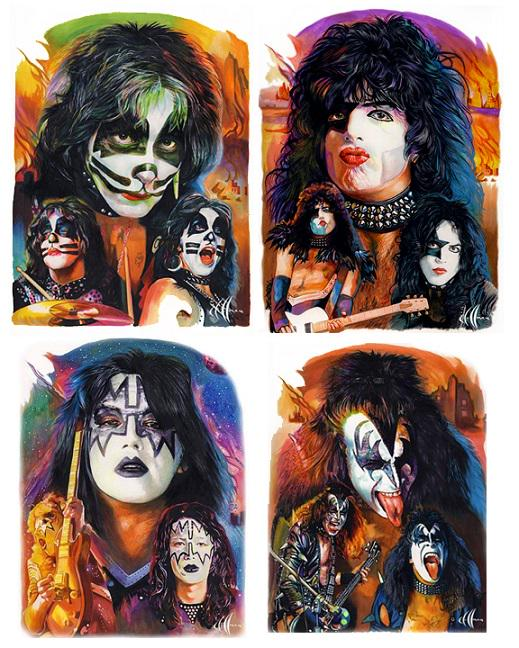 Thanks to Chris Hoffman for sharing his early #KISS artwork with us! Awesome! The #KISSARMY Rocks! http://t.co/YmGvFiBRKu
