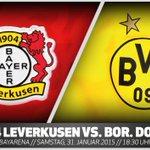 #Topspiel am Samstagabend: Der @BVB muss zu @bayer04fussball! Alle Infos in der Vorschau: http://t.co/RXdR87l3w3 http://t.co/HBIc0KT4NY