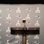 Brady at big boy podium. Got here before sun rise #patriots http://t.co/0oDTUaaYlg