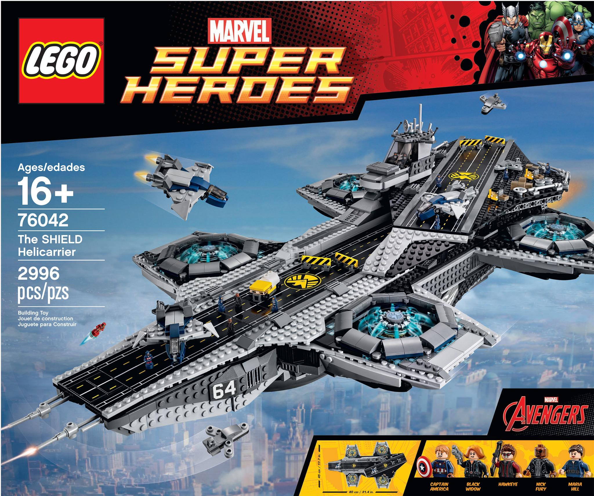Announcing the LEGO @Marvel Super Heroes-The SHIELD Helicarrier! Coming March 2015 http://t.co/ZPUFlirwGo