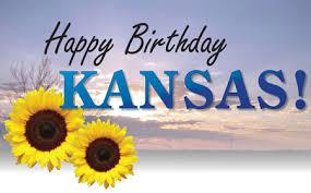 Happy Birthday Kansas! Happy KS Day! The sunflower state is home to prairies, plains, famous pilots & so much more! http://t.co/5hF0Xja0hx