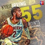 ICYMI, @KyrieIrving became the first Cav to record 50+ points in Cleveland since 1971! http://t.co/TMAZdn12tQ