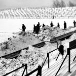 More snow forecast for the next few days, but its unlikely to get as bad as this! Boothferry Park in 1947  #hcafc http://t.co/ZtG0BNfzJU