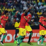 Guinea go through to the #AFCON2015 quarterfinals as Group D runners up after the drawing of the lots. #SSFootball http://t.co/f13sQ09djH
