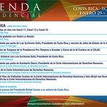 Conozca la agenda que cumplirá hoy el Presidente @MashiRafael en el marco de la Cumbre de #CELAC #CelacEcuador http://t.co/41fpAIAORS