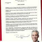 Today is #ConciergeDay in the City of Chicago! Thank you @ChicagosMayor and @CP_Chicago for recognizing this day! http://t.co/KeiZdNroYs