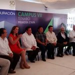 #HOY Gobernador @ferortegab inauguró el campus VII de la @UACam_Avanza ubicado en la cabecera municipal de #Tenabo http://t.co/AgFCJu1Kar
