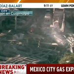 BREAKING: Gas tank truck explodes in Mexico City outside children's hospital http://t.co/o8t6WOBfxa http://t.co/P1L5JJ6b0j