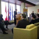 Windsor Mayor Dilkens speaks at IBLS announcement. Partnering with U Windsor. http://t.co/yrwdwATdo2