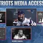 The final Patriots player media availability before #SB49 is underway! Watch it live at http://t.co/FVSKYJdzNj http://t.co/VvY5UmSLWI