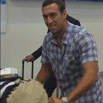 El volante uruguayo, Brahian Alemán, llegó a Guayaquil para sumarse a @BarcelonaSCweb Foto: @ViWiMe http://t.co/9ex6kOSm9u