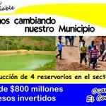 Mas de 800 millones han sido invertidos en reservorios para el sector rural. http://t.co/V6DJADLvqD @nortedsantander @TUKANAL @albepaez