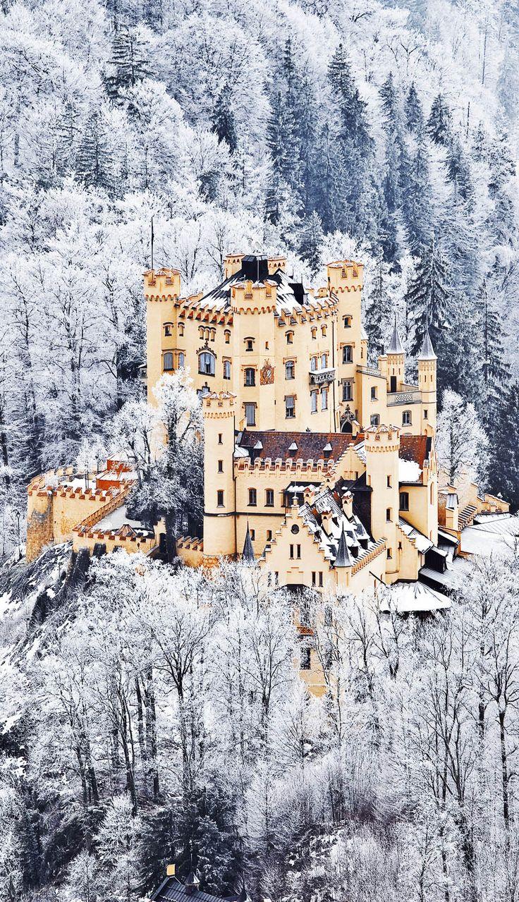 The Castle of Hohenschwangau in Bavaria http://t.co/Aah3oo9ush